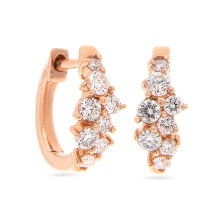 Brinco-argola-snow-flakes-baby-huggie-em-ouro-rosa-14kt-com-diamantes-em-lapidacao-brilhante