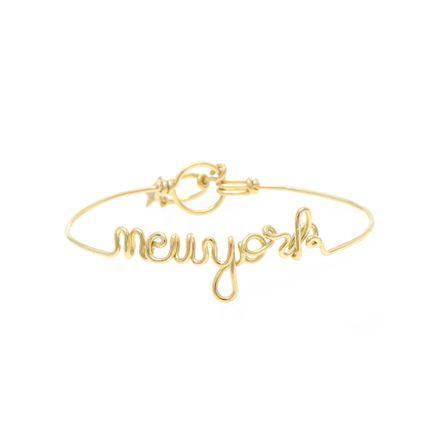 Pulseira Cielle new york em ouro