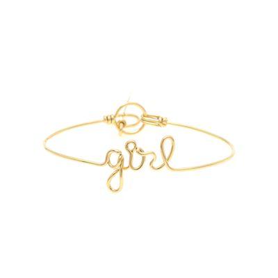 Pulseira-em-ouro-amarelo-18kt-com-escrita--girl--em-letra-cursiva