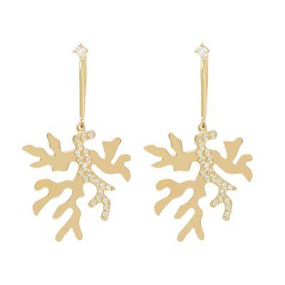 Brinco-Essere-Alga-Marinha-em-ouro-amarelo-18kt-com-diamantes-em-lapidacao-brilhante