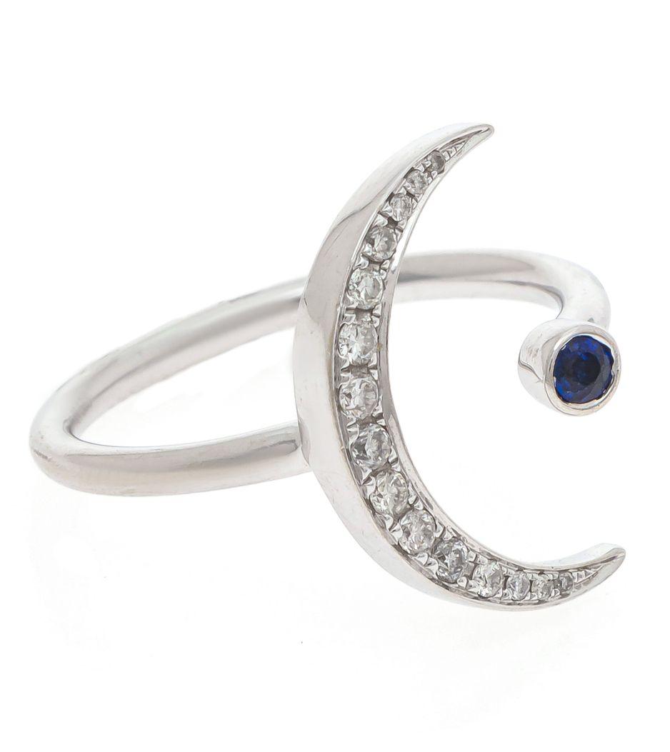Anel-meia-lua-em-ouro-branco--com-diamantes-e-safira