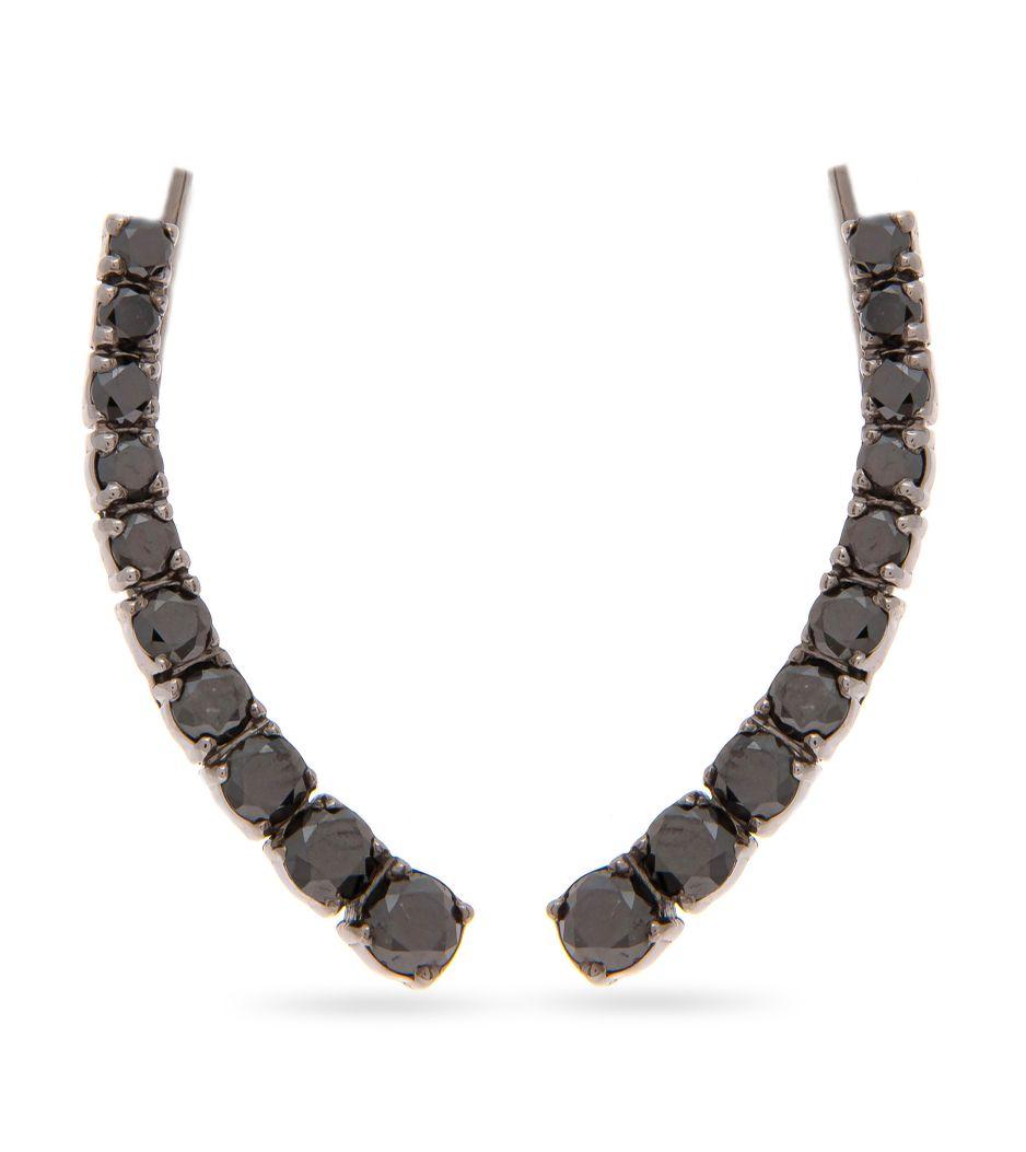 Brinco-earcuff-em-ouro-com-diamantes-negros