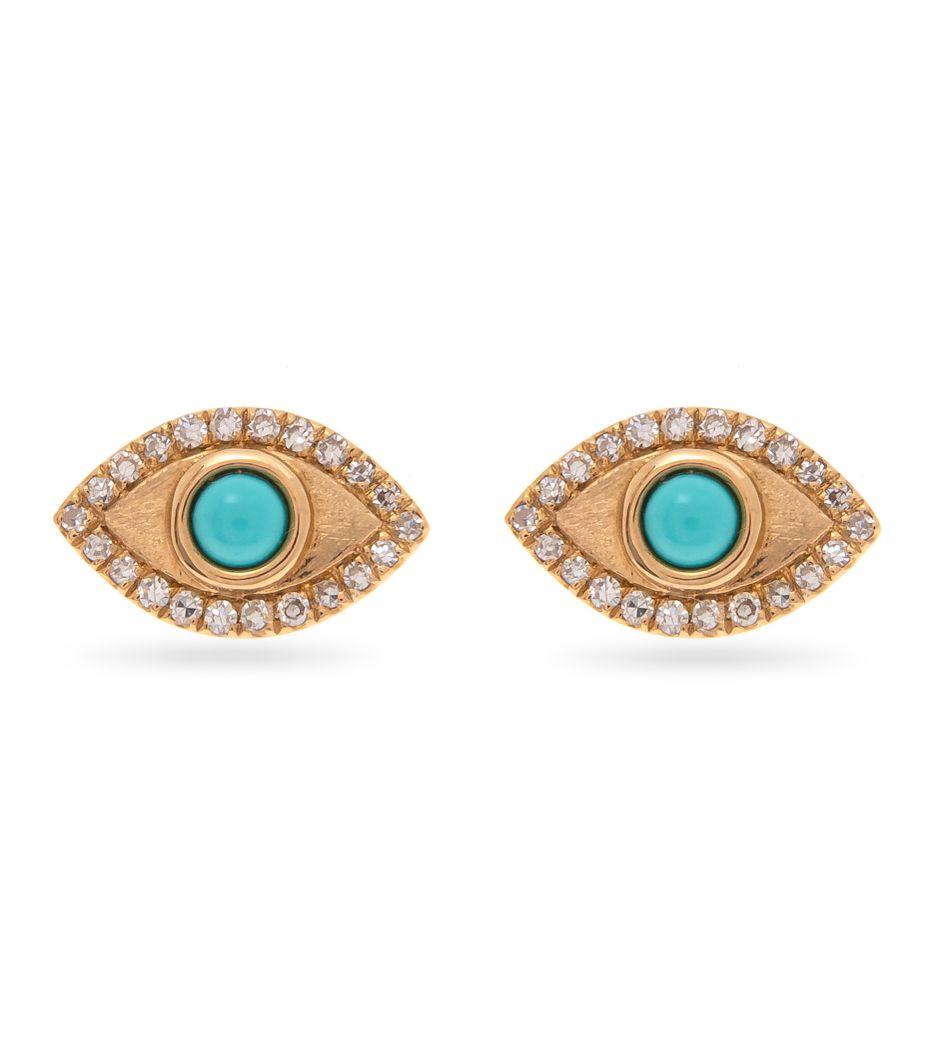 Brinco-olho-grego-em-ouro-com--turquesas-e-diamantes