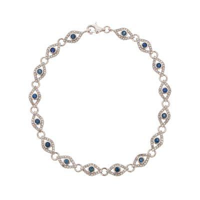 Pulseira-olho-grego-em-ouro-com-safiras-e-diamantes