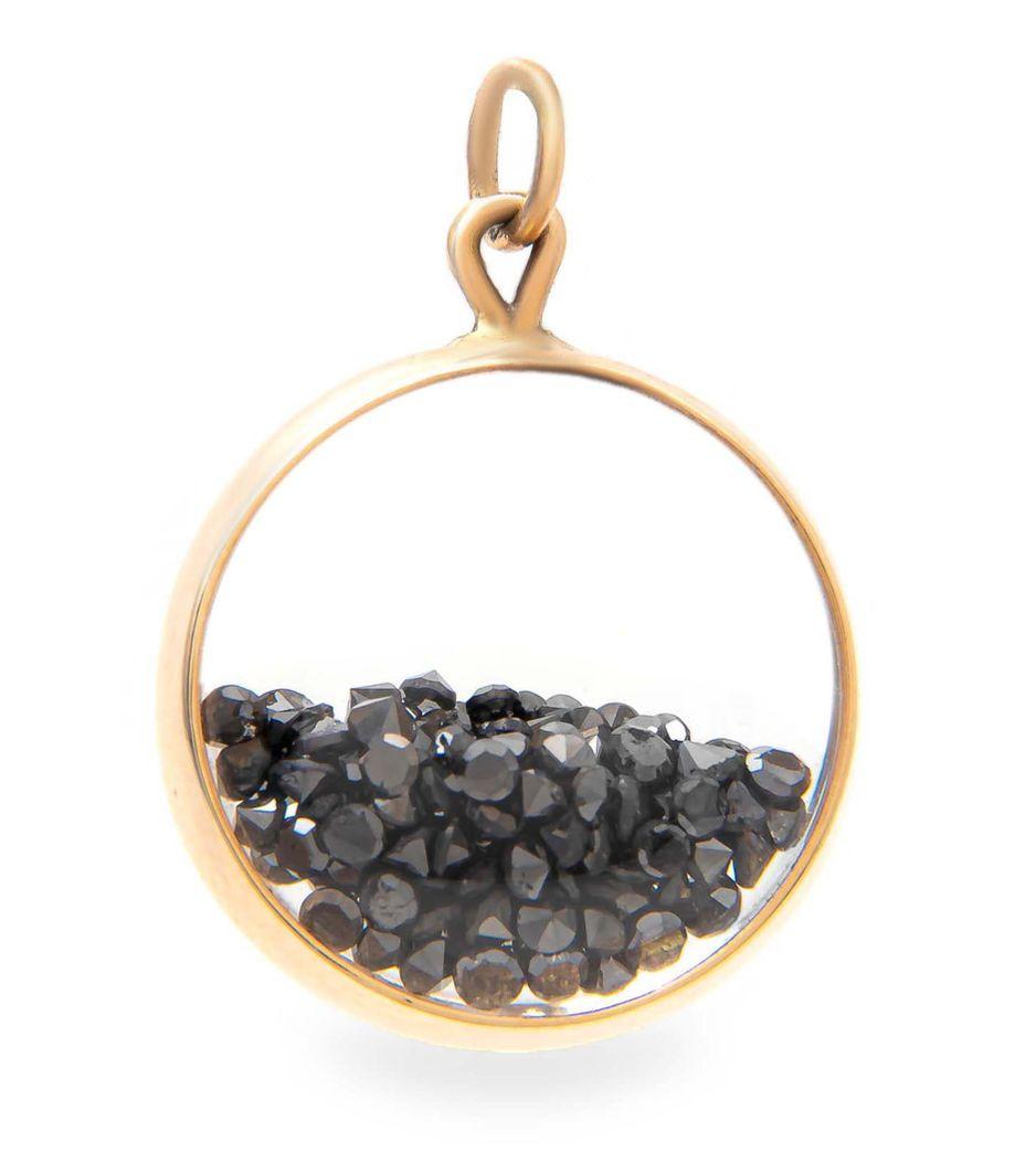 Berloque-shaker-em-ouro-com-diamantes-negros