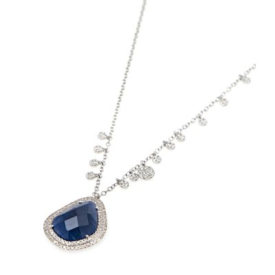 Colar-Meira-T-pendente-de-ouro-com-diamantes-e-safira