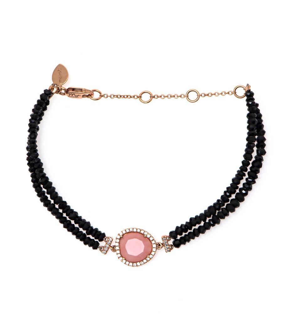 Pulseira-Meira-T-de-ouro-com-espinelios-opala-e-diamantes