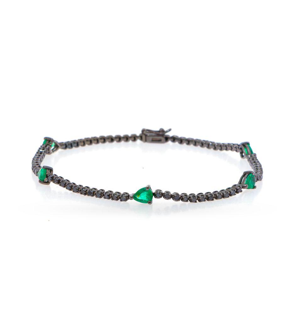 Pulseira-riviera-de-ouro-com-diamantes-e-esmeraldas
