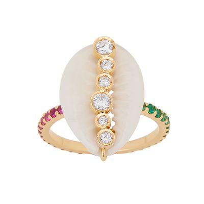 Anel-Aron-Hirsch-búzio-de-ouro-com-diamantes-e-safiras