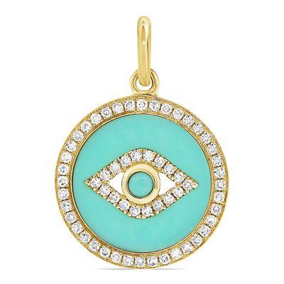 Berloque-olho-grego-de-ouro-com-turquesa-e-diamantes