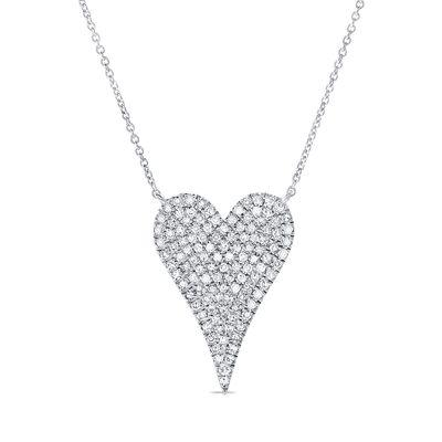 Colar-pendente-coração-de-ouro-com-diamantes