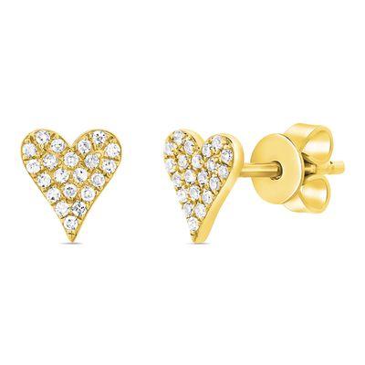 Brinco-stud-coracao-de-ouro-com-diamantes