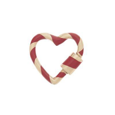 Berloque-Marla-Aaron-em-ouro-Heart-Lock-e-esmalte