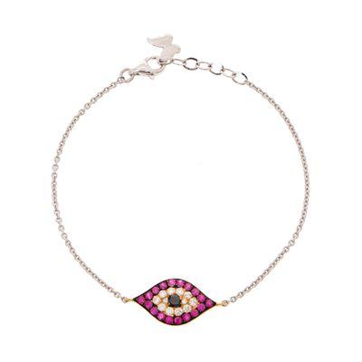 Pulseira-olho-grego-de-ouro-com-rubis-e-diamantes-