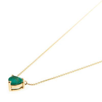 Colar-pendente-solitário-de-ouro-com-esmeralda
