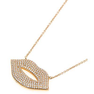 Colar-pendente-kiss-de-ouro-com-diamantes