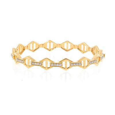 Pulseira-rigida-de-ouro-com-diamantes