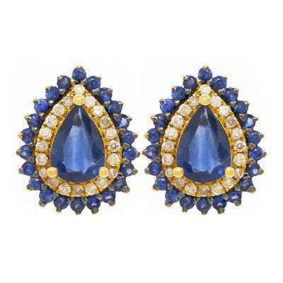 Brinco-solitario-de-ouro-com-safiras-e-diamantes