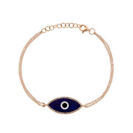 Pulseira-olho-grego-de-ouro-com-lápis-lazuli-e-diamantes