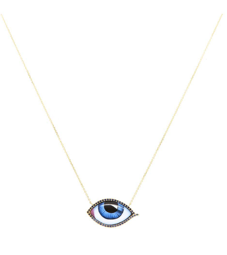 Colar-Lito-olho-grego-pendente-de-ouro-com-diamantes-safiras-e-esmalt-