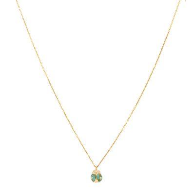 Colar-Nayla-Arida-pendente-de-ouro-com-diamantes-e-turquesa