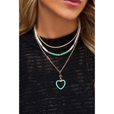 Colar-Cielle-Ebony-branco-verde-e-negro-em-ouro-com-diamante