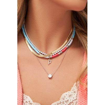 Colar-Cielle-Ebony-azul-e-rosa-em-ouro-com-diamante