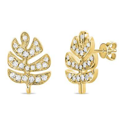 Brinco-stud-de-ouro-com-diamantes