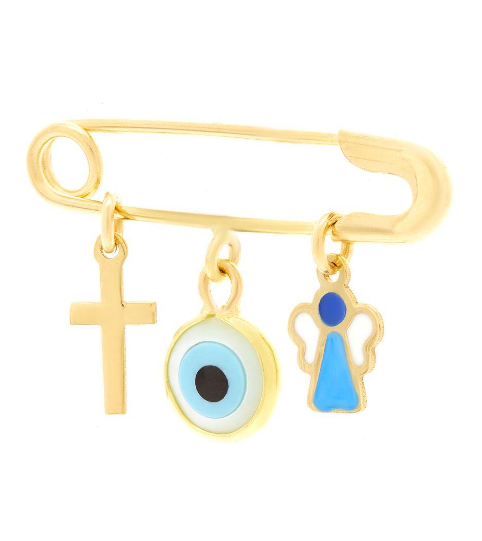 Alfinete-de-ouro-infantil-olho-grego-com-esmalte