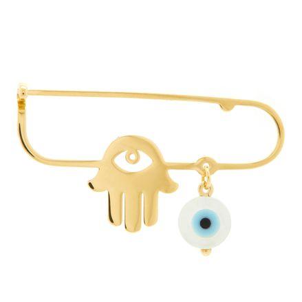 Alfinete-de-ouro-infantil-olho-grego-e-hamsa