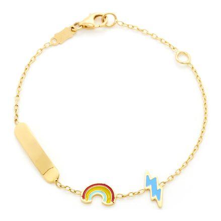 Pulseira-infantil-arco-iris-de-ouro