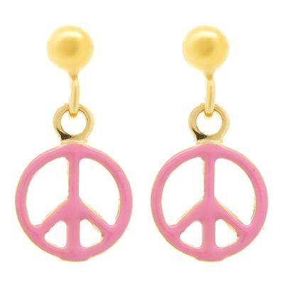 Brinco-infantil-peace-de-ouro-com-esmalte-
