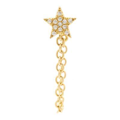 Brinco-único-estrela-chain-em-ouro-com-diamantes