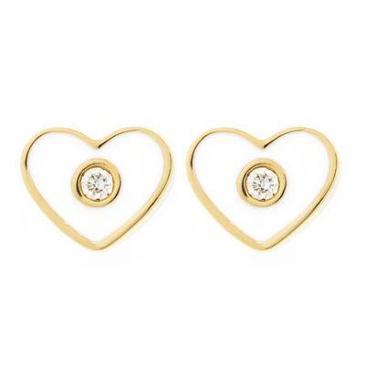 Brinco-stud-coração-de-ouro-com-diamante