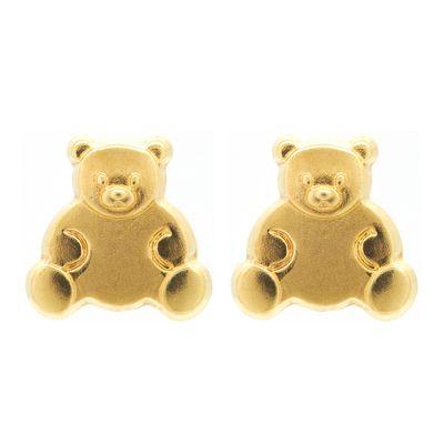 Brinco-infantil-ursinho-de-ouro
