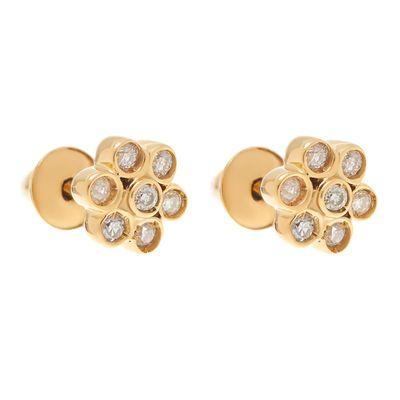 Brinco-infantil-flor-de-ouro-com-diamantes